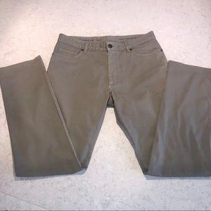 Ermenegildo Zegna Men's Luxury Denim Gray Jeans